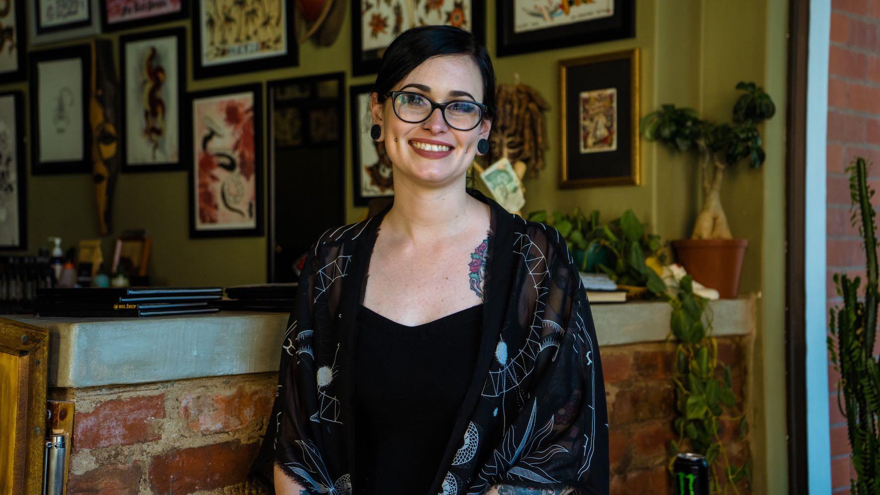 We interview Tattoo Artist Rebecca Claxton