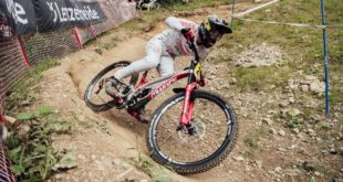 The seventh stop of the 2019 UCI Downhill MTB World Cup took place in Lenzerheide, Switzerland over the weekend. Watch the podium winning runs here.