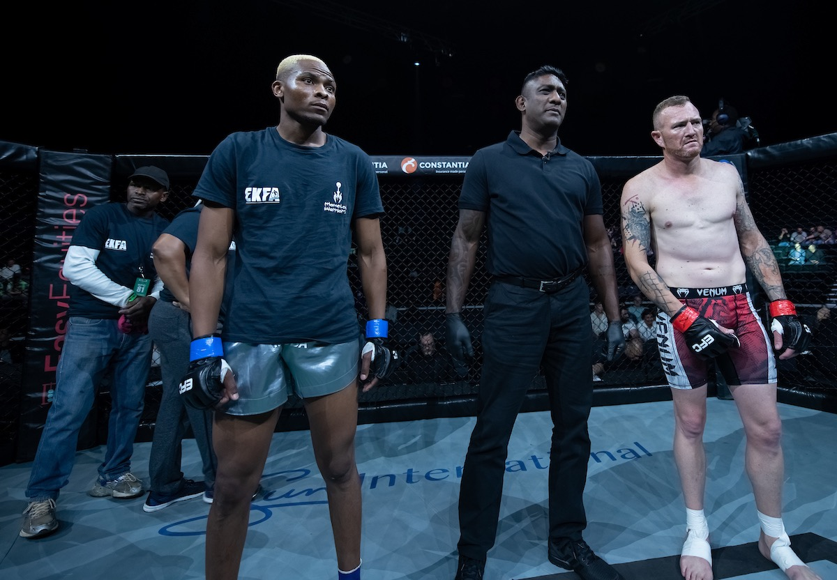 Results from all 100 MMA fights from EFC 81