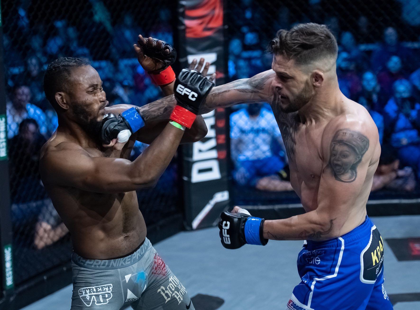 Dino Bagattin vs Anicet Kanyeba at EFC 81