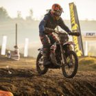 Leonard du Toit racing in the 2019 South African National Motocross Championship in Pietermaritzburg