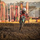 Emmanuel Bako racing in the 2019 South African National Motocross Championship in Pietermaritzburg
