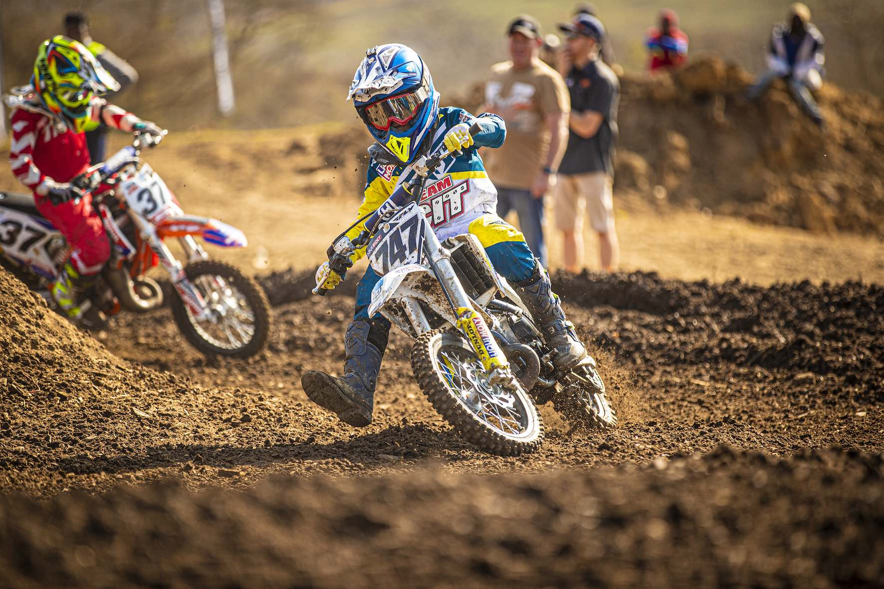 Jordan Van Wyk racing in the 2019 South African National Motocross Championship in Pietermaritzburg