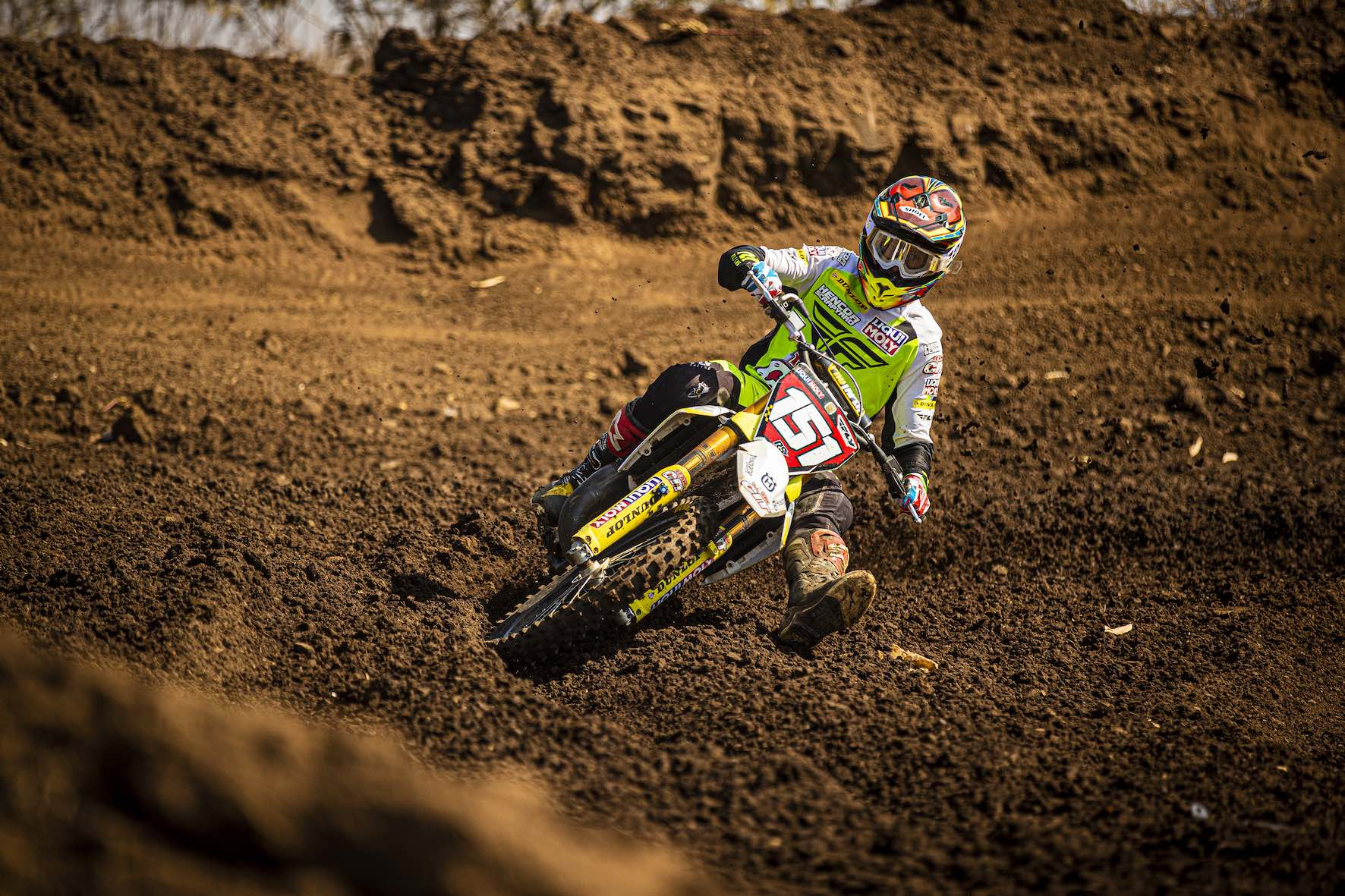 Dalton Venter racing in the 2019 South African National Motocross Championship in Pietermaritzburg