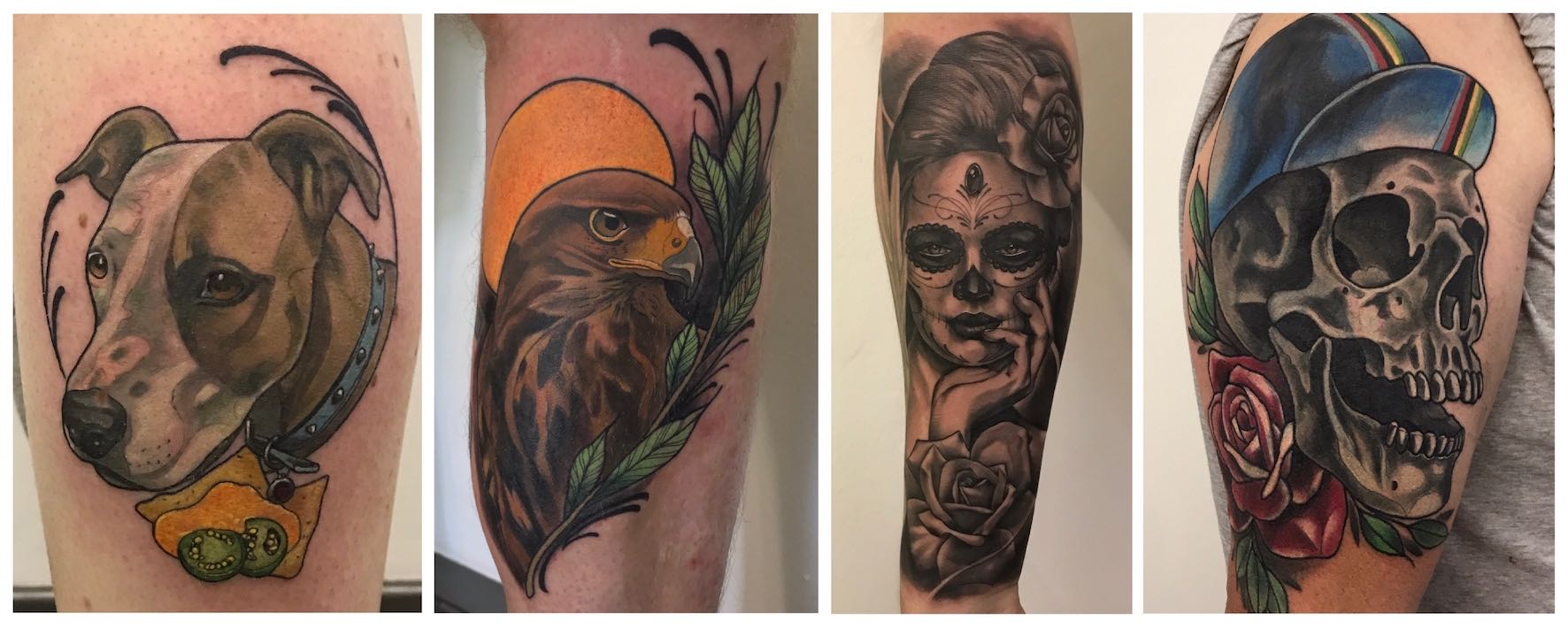 Tattoos done by Ronald Jacobs