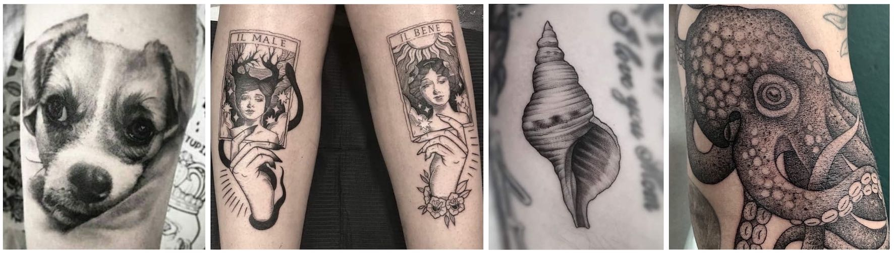 Tattoos done by Rebecca Claxton