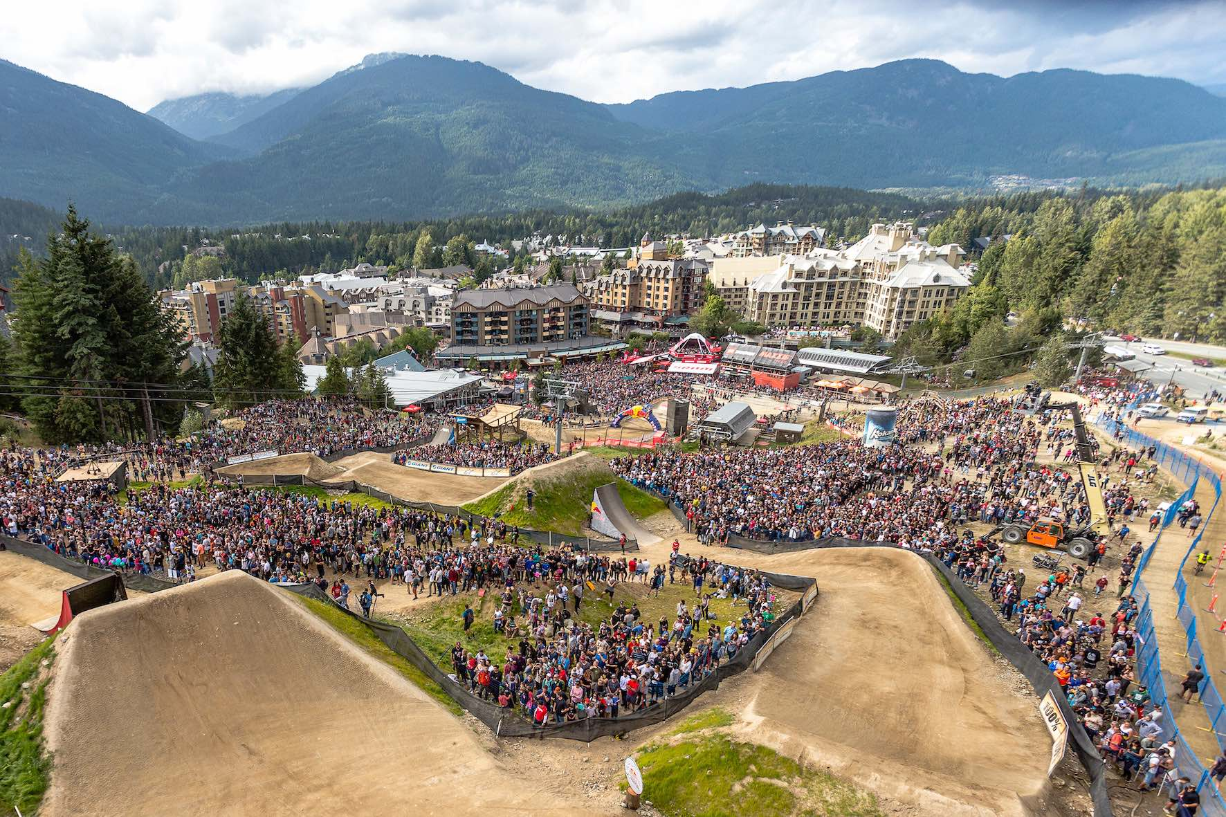 The venue for Red Bull Joyride 2019