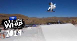 WE ARE LIVE with the official 2019 Ultimate Ears Winter Whip Snowboard and Ski Festival video feature. Take a look at what went down at this year's Slopestyle contest.