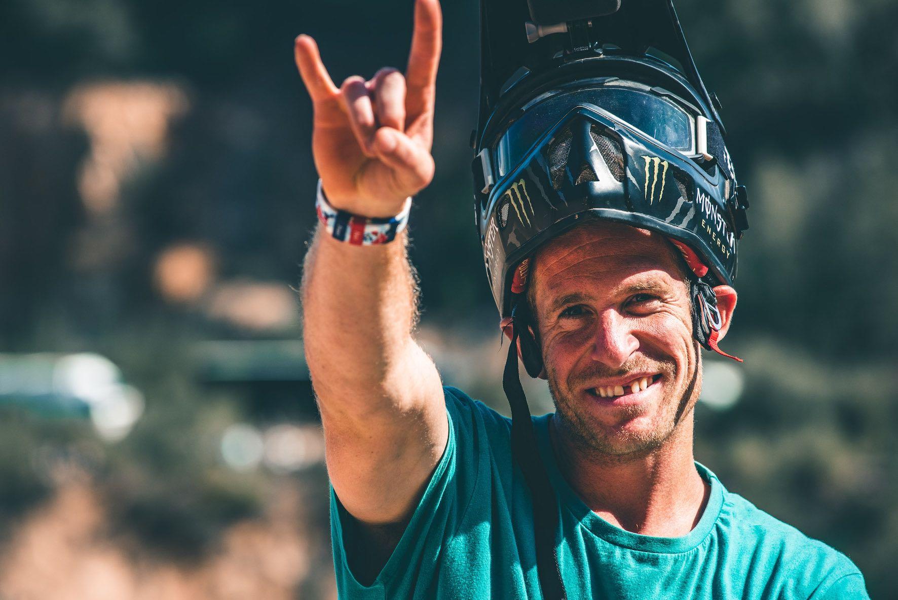 Audi Nines 2019 interview with Freeride MTB rider, Sam Pilgrim