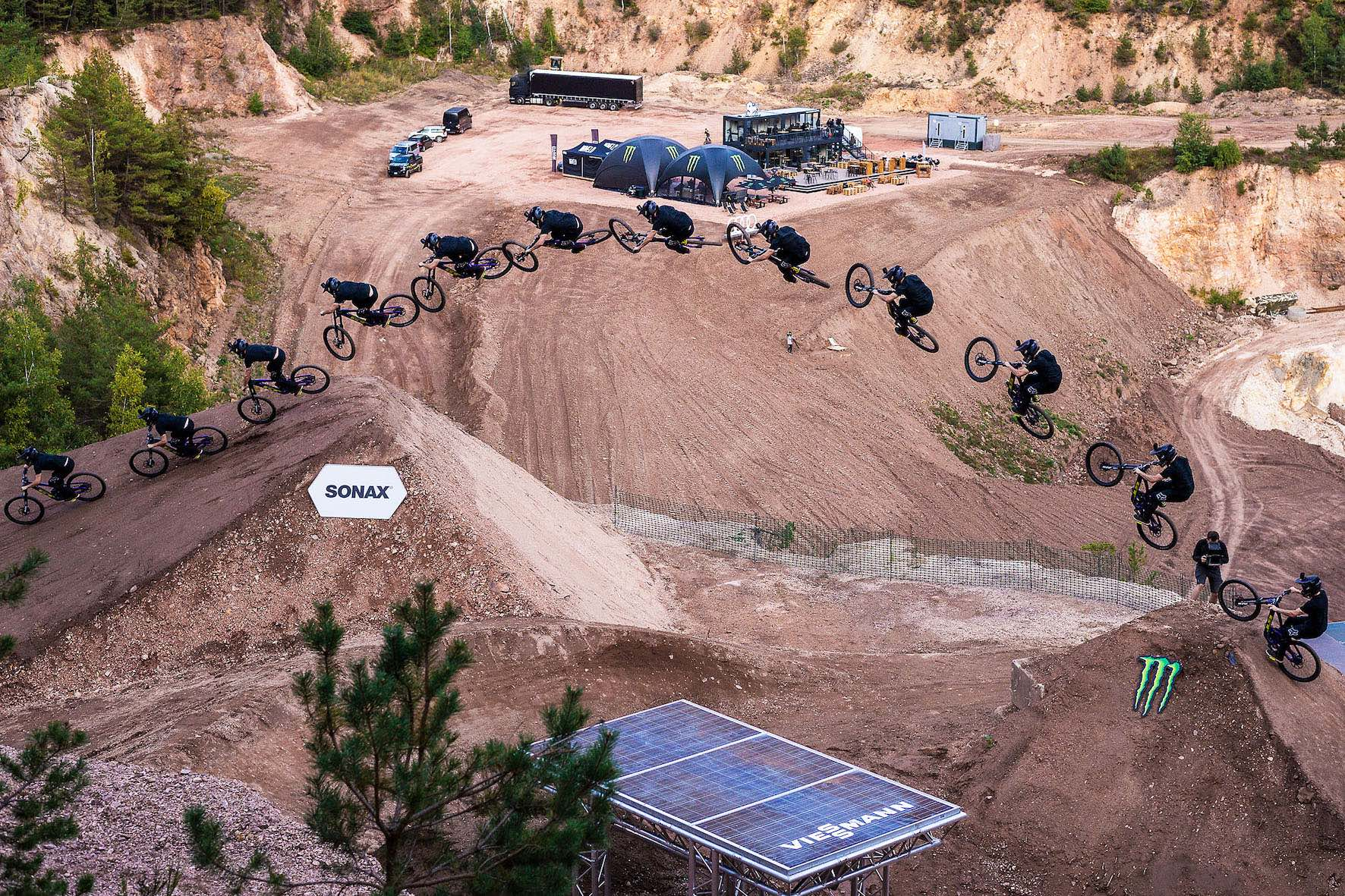 We interview Audi Nines Slopestyle Mountain Bike rider, Tom Isted