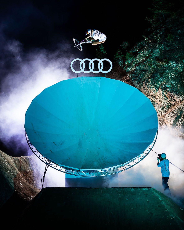 Emil Johansson talks Audi Nines 2019 Slopestyle and Freeride MTB event