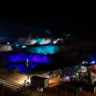 The Audi Nines Slopestyle MTB night session