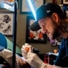 Nic Lewis is our featured Tattoo Artist