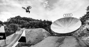 The World's best Freeride and Slopestyle MTB riders have returned for the 2019 edition of the Audi Nines. Take a behind the scenes look at the course build and the first hits.