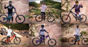 Amidst the crazy Freeride and Slopestyle mountain biking action going down at this year's The Audi Nines event, we managed to get some riders aside to take a look at their bikes and setups.
