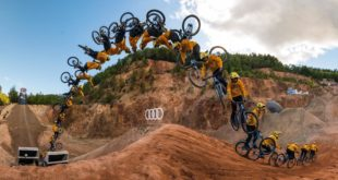Press play and soak up all the carnage and bangers from The Audi Nines 2019 Freeride and Slopestyle MTB event's finest moments.