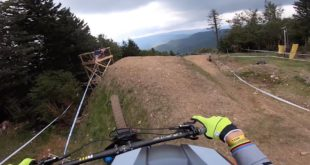 Take a run down theall new Snowshoe Downhill MTB World Cup course with Greg Minnaar. Big jumps, flat-out sections and relentless rock gardens are going to make for a physical ending to the 2019 season.