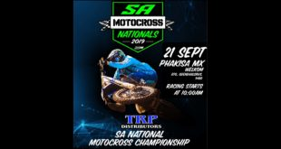 Details for the penultimate round of the 2019 TRP Distributors South African National Motocross Championship that heads to the Phakisa Freeway Motocross Track in Welkom.