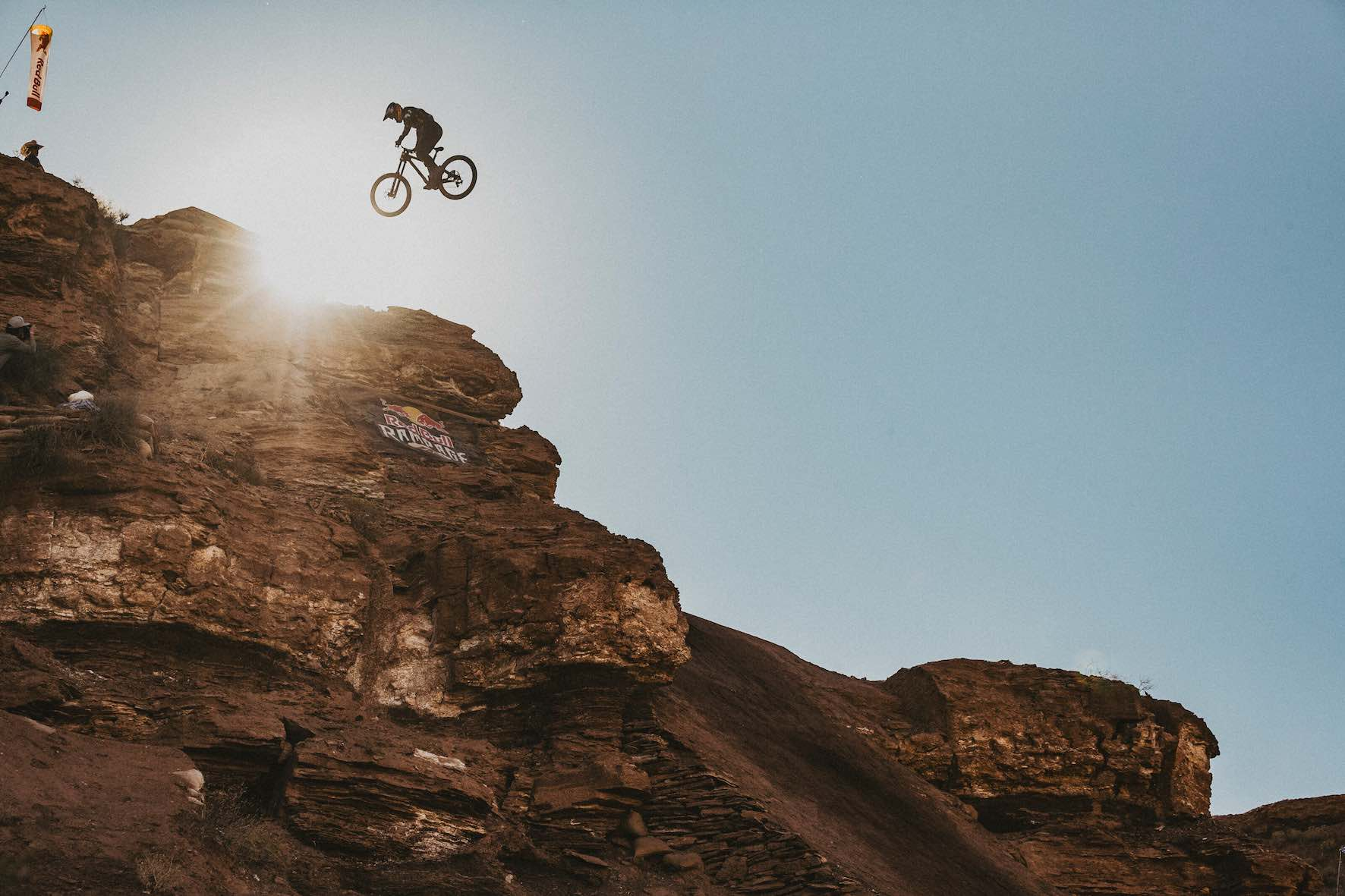 Carson Storch comptes at Red Bull Rampage 2019