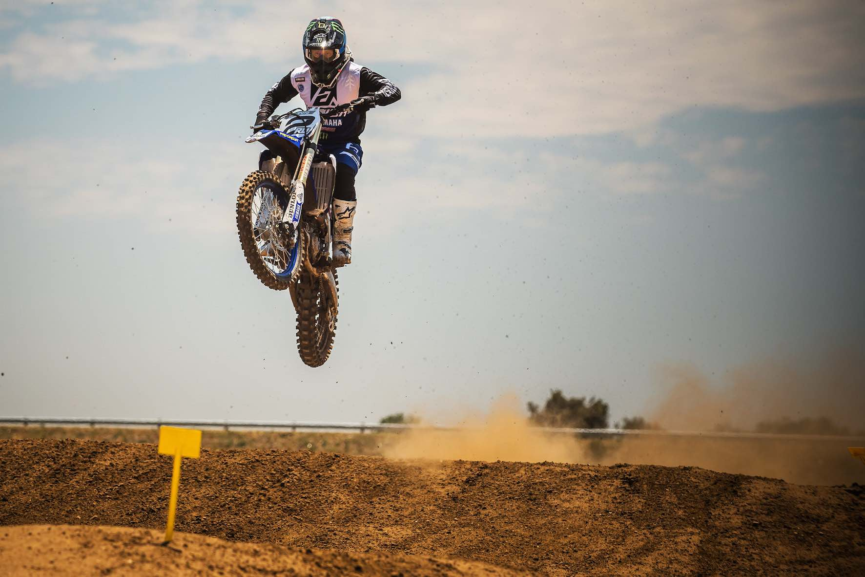 Supercross rider, Ryan Villopoto in South Africa