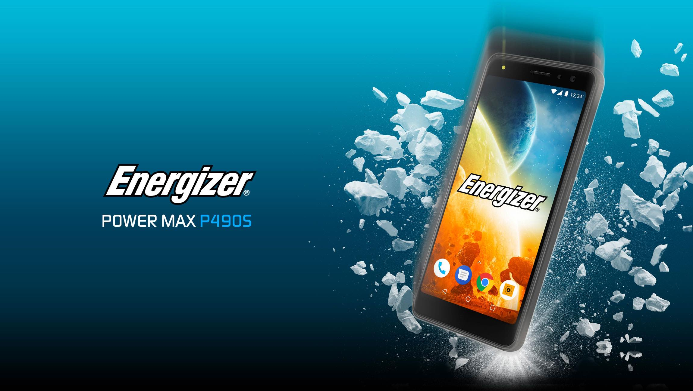 Introducing the Energizer Power Max P490S 4G smartphone