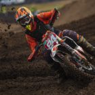 Leonard du Toit racing the final round of the 2019 SA MX Nationals