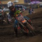 Seth Young racing the final round of the 2019 SA MX Nationals