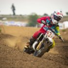 Neil van der Vyver racing the final round of the 2019 SA MX Nationals