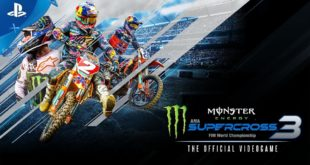 The latest addition of the most beloved and realistic Supercross videogame, Monster Energy Supercross 3 - The Official Videogame, will release globally 4 February 2020. Watch the Announcement Trailer here and get more info on the game here.