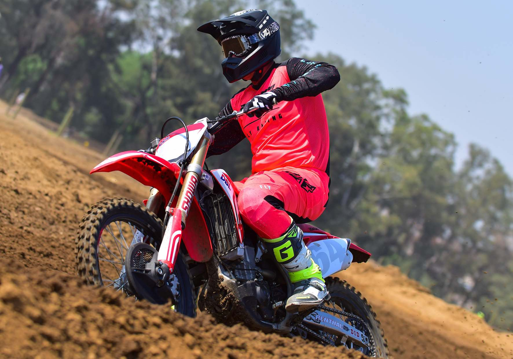 Taking the new 2020 Fly Lite Motocross Racewear through its paces