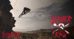Carson Storch sessions the massive features and the big mountain lines of Virgin, Utah onboard his new Rocky Mountain Slayer - presenting Slayer Raw...