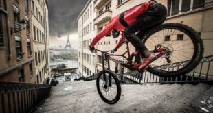 Taking Freeride Mountain Biking to another level - Fabio Wibmer is a madman. Urban Freeride is back. Lyon to Paris, let's go!