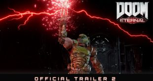 Watch the all-new official trailer and raze hell when DOOM Eternal launches on 20 March 2020. With hell's armies having invaded Earth, become the Slayer in an epic single-player campaign to conquer demons across dimensions and stop the final destruction of humanity.