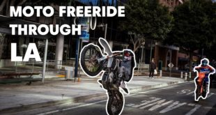 Freestyle Motocross riders Robbie Maddison and Tyler Bereman escape the Los Angeles holiday weekend traffic by ripping their dirt bikes through the city landscape to make it their personal freeride playground. Watch Duct Out here...