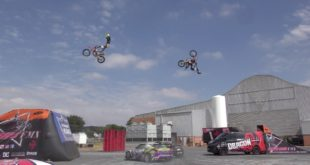 Freestyle Motocross vs Drifting. The Jungle Rush FMX teamed up with XS Promotions at the Dragon Energy playground for a high action experience.