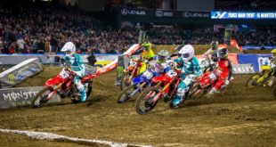 Take a look at the 250 and 450 main events highlights from Round 2 of the 2020 Monster Energy Supercross - Anaheim 2.