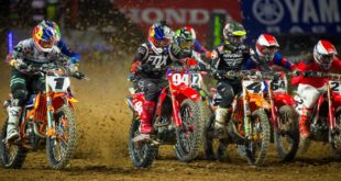Take a look at the 250 and 450 main event highlights from Round 4 of the 2020 Monster Energy Supercross from Glendale