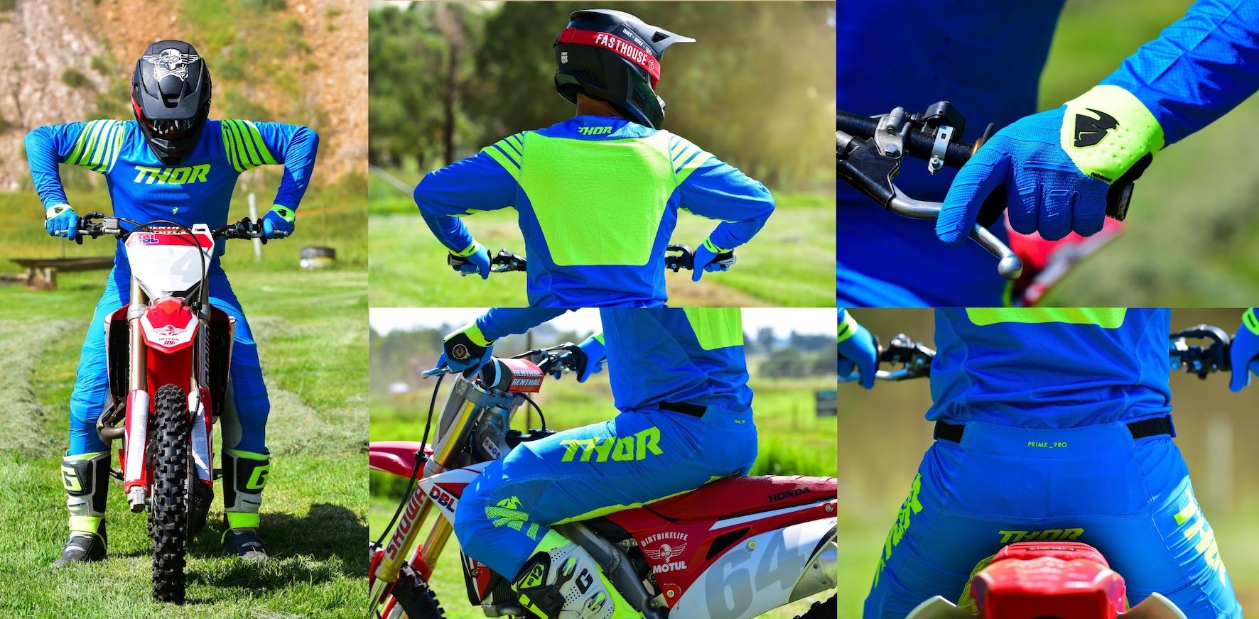We test the 2020 Thor MX Prime Pro Motocross Racewear