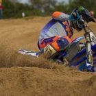 David Goosen winning the MX2 class at Round 1 of the 2020 SA Motocross Nationals