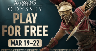 Live an epic journey in Ancient Greece and become a legendary hero! From 19th March to 22nd March, play Assassin's Creed Odyssey for free and choose your fate!