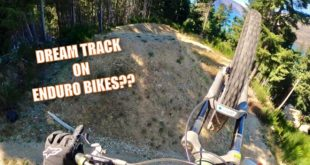 Sam Reynolds and Andrew Neethling head out to the world famous Dream Track in Queenstown, New Zealand to see if their enduro bikes can handle the jumps. Check it out...
