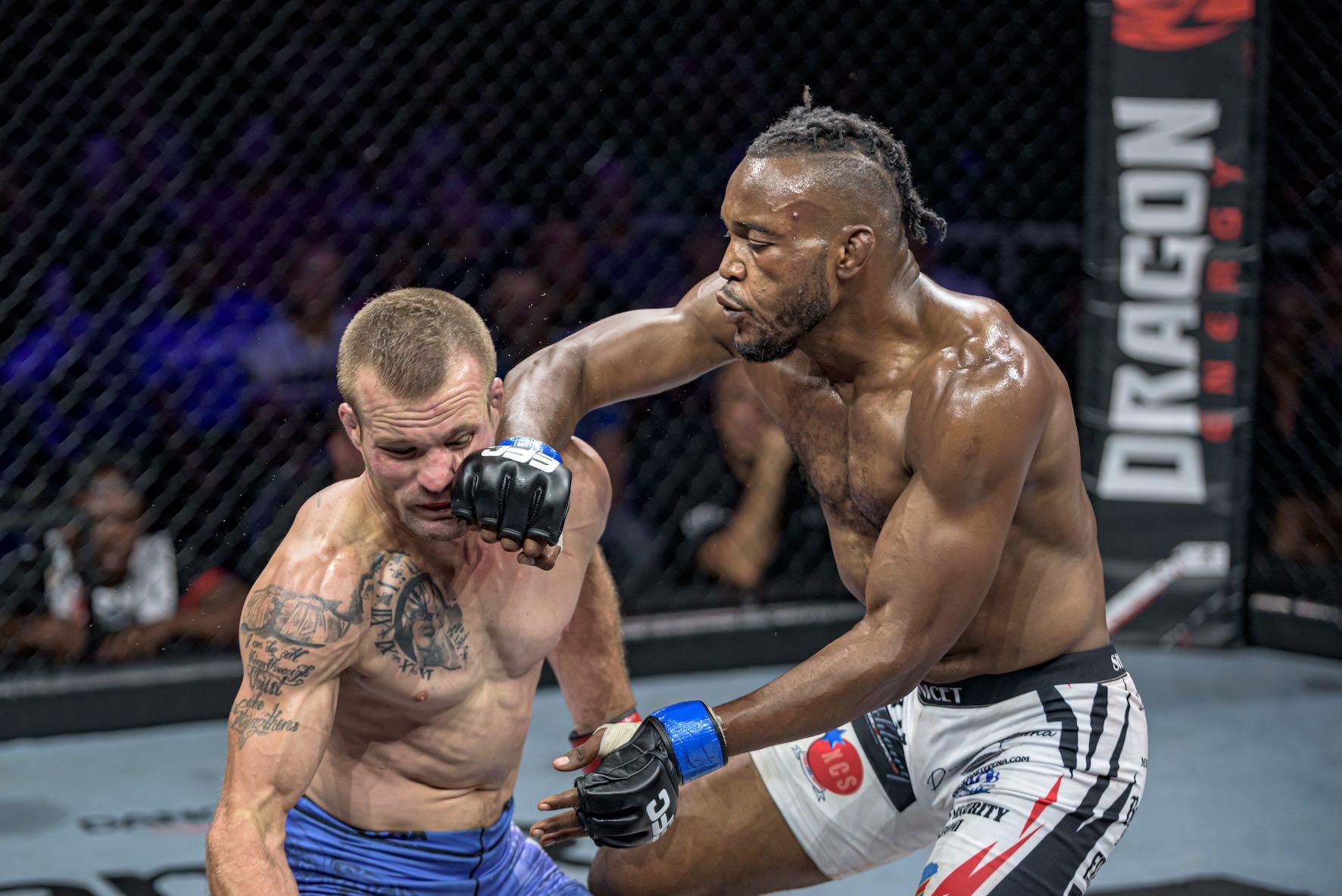 Anicet Kanyeba vs Pierre Botha