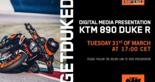 We invite you to be part of a special digital presentation of the new KTM 890 DUKE R, where you will learn more about the features of The Super Scalpel!