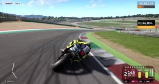 The selection of rider, track and weather conditions of the first official gameplay trailer for MotoGP 20 was put together by community requests, that massively voted for Valentino Rossi on the Mugello Circuit in dry conditions.