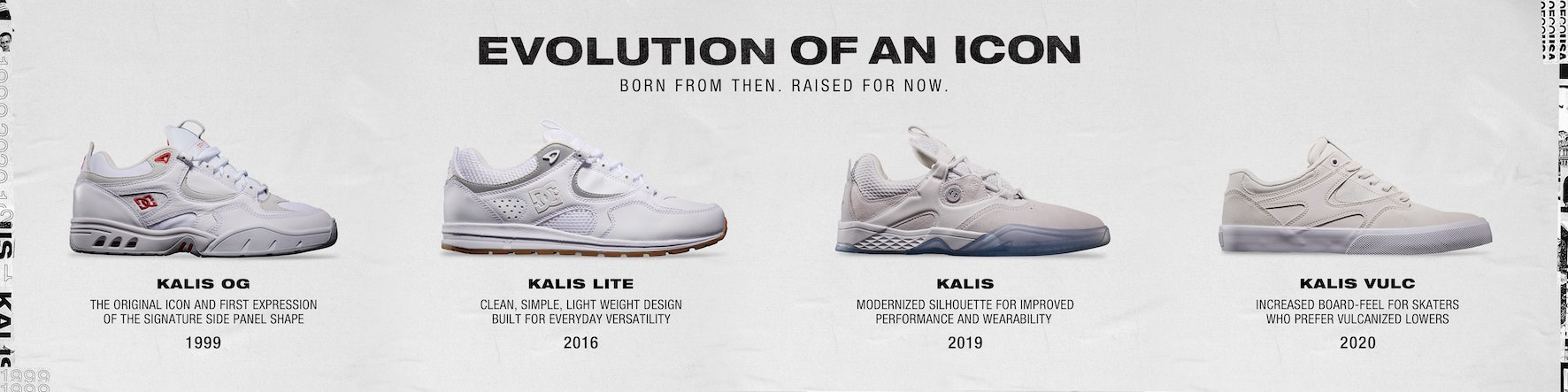 The evolution of the DC Shoes Kalis Vulc