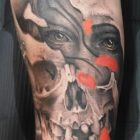 The final image of the new tattoo by Bryan Du Rand