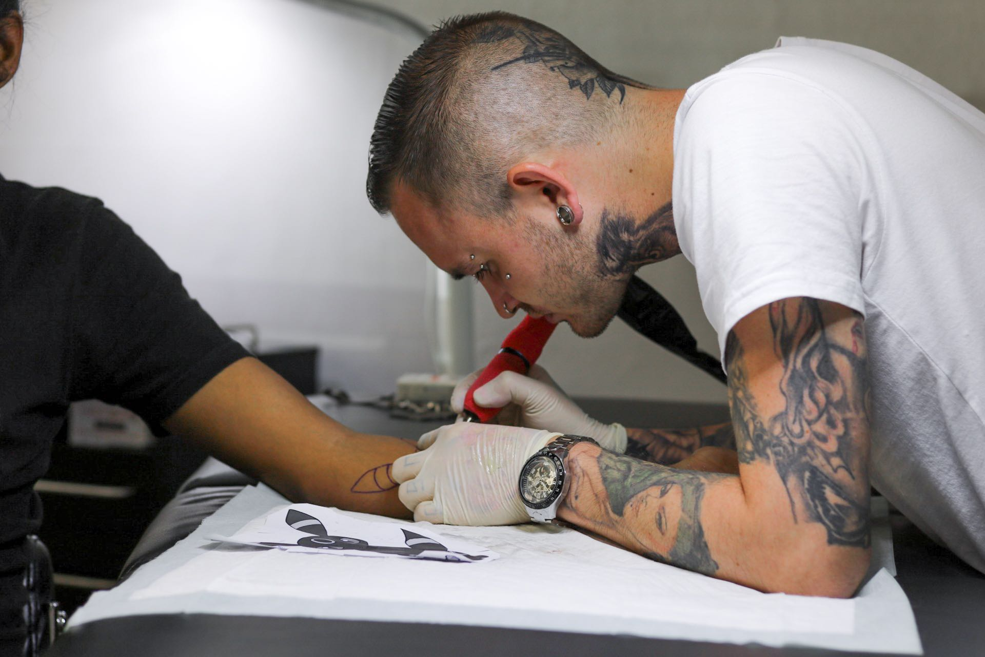 Interview with Sheldon Shaw of Fine Line Tattoos