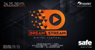 DreamStream Digital Festival - 3 Days, 33 Artists, 1 platform for 1 Cause!