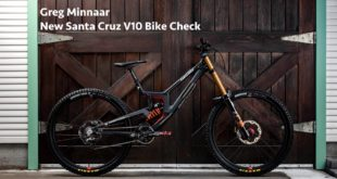 Greg Minnaar New Santa Cruz V10 Bike Check and Interview