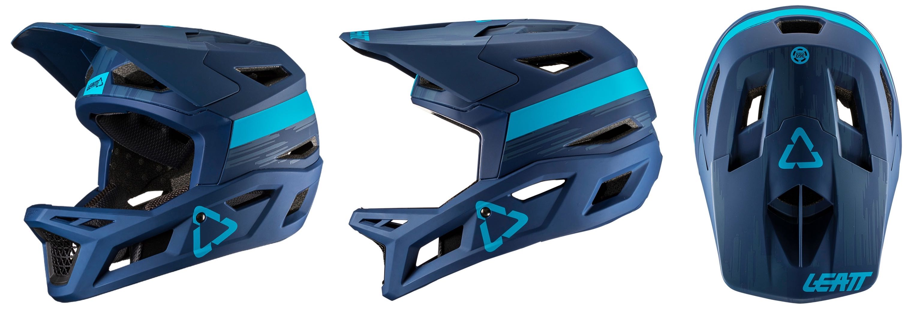 The Leatt DBX 4.0 Helmet in Ink colour